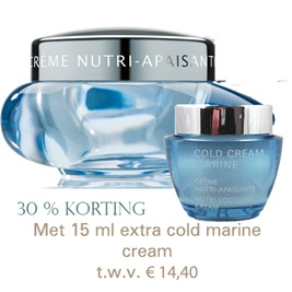 Cold cream marine 50ml met 15ml potje cadeau
