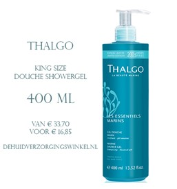 Thalgo marine shower gel douche king size 400 ml